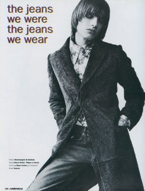 The Jeans we were, the Jeans we wear